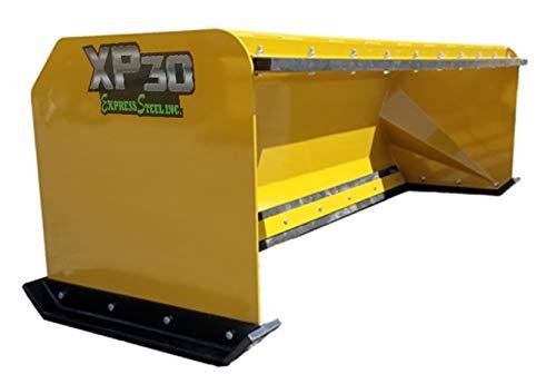 8' XP30 Pullback Skid Steer Snow Pusher