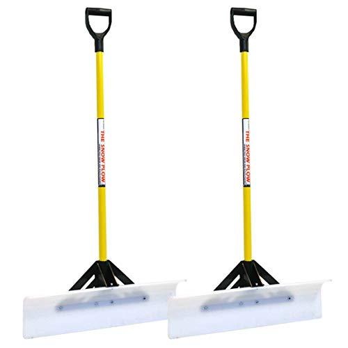 2PK 30' Snow Plow Shovel Pusher 50530 with D-Grip...