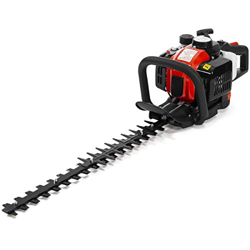 XtremepowerUS 81066 26cc 2-Cycle Gas Powered Hedge...