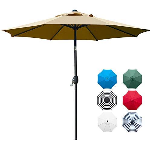 Sunnyglade 9' Patio Umbrella Outdoor Table...