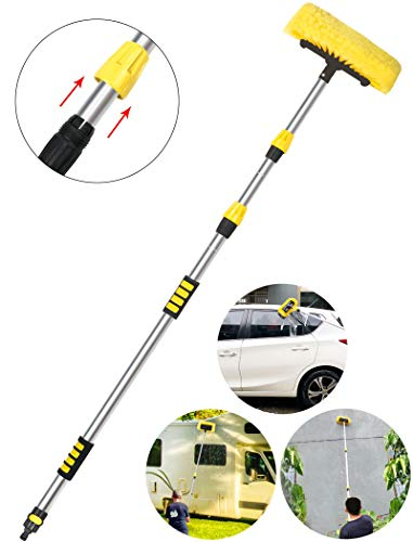 Buyplus Car Wash Brush with Long Handle - 12 Foot...