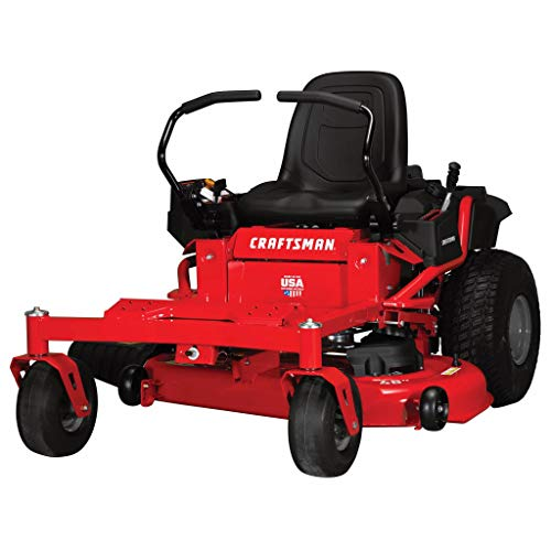 Craftsman Z525 Zero Turn Gas Powered Lawn Mower,...