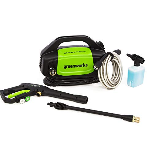 Greenworks GPW1502 1500 PSI 1.2 GPM Electric Pressure Washer
