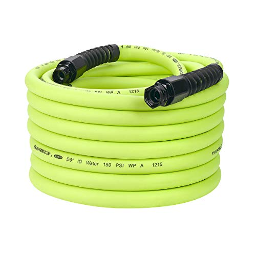 Flexzilla Pro Water Hose with Reusable Fittings, 5/8 in. x 75 ft., Heavy Duty, Lightweight, Drinking Water Safe - HFZWP575