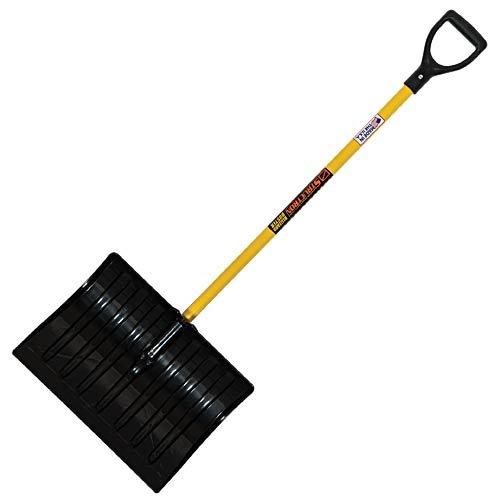 MRC Seymour Commercial Snow Shovel with Fiberglass...