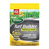 Scotts Turf Builder Weed and Feed 3; Covers up to...