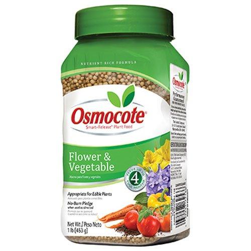 Osmocote 277160 Smart-Release Plant Food Flower & Vegetable, 1 LB