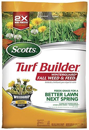 Scotts Turf Builder Winterguard Fall Weed & Feed3,...