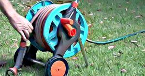 How to Put a Hose on a Hose Reel