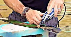 How to Sharpen a Lawn Mower Blade with a Dremel